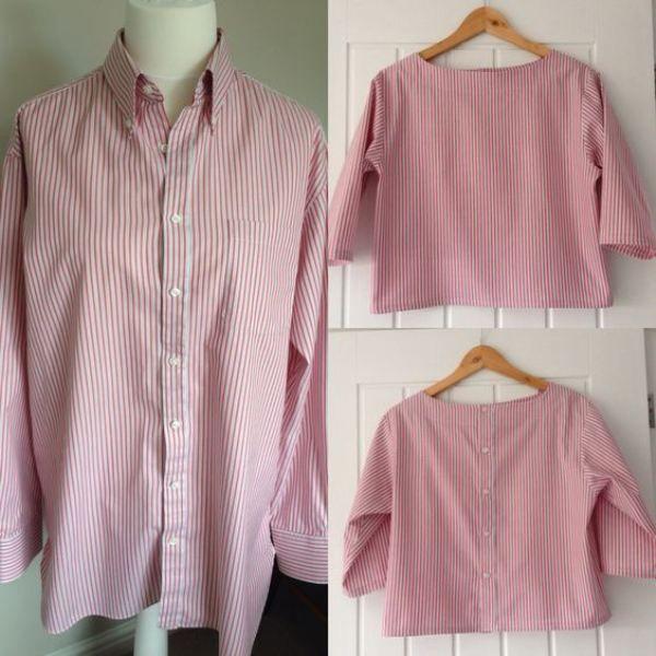 Сшить блузку по старой 188